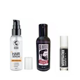 Beardo Growth,Roll on And Serum(Set of 3)
