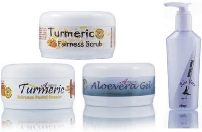 Adidev Herbals Herbal Skin Whitening Turmeric Fairness Pack