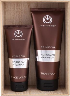 The Man Company Argan Magic Set of Face Wash and Shampoo