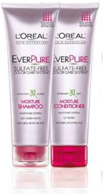L,Oreal Paris Everpure Moisture Shampoo and Conditioner Rosemary Mint