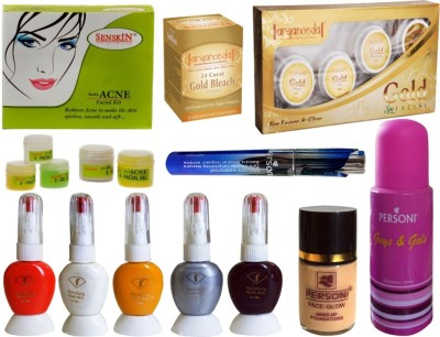 PERSONI ATTRACTIVE COMBO KIT OF 11 PCS OF BEAUTY ACCESSORIES