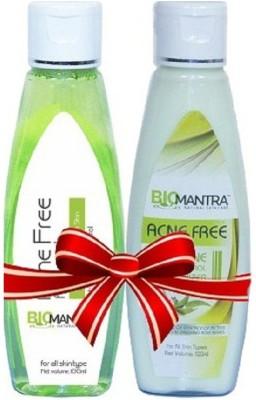 BioMantra Acne Combo Of Moisturizer And Facewash