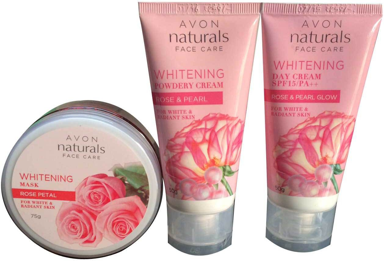 Avon Naturals Face Care Whitening Combo(Set of 3)