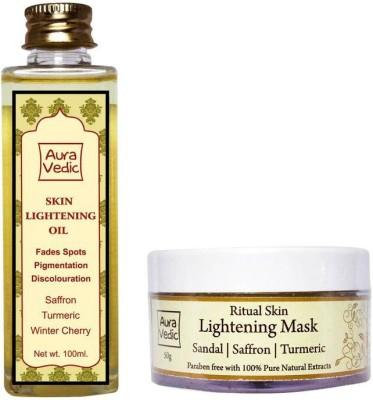 Auravedic Flawless Skin Lightening Kit