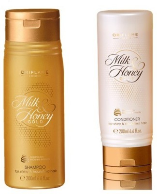 Oriflame Sweden Milk & Honey Gold Conditioner and Shampoo