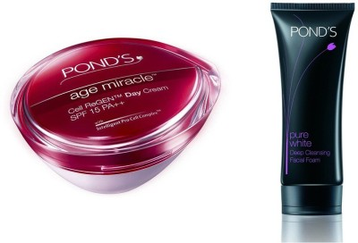 Pond's Age Miracle &Pure White Deep Cleansing facial foam Face Wash