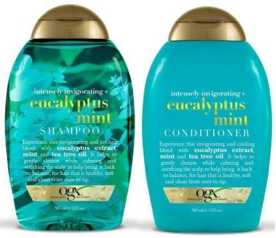 OGX Intensely Invigorating Plus Eucalyptus Mint Combo