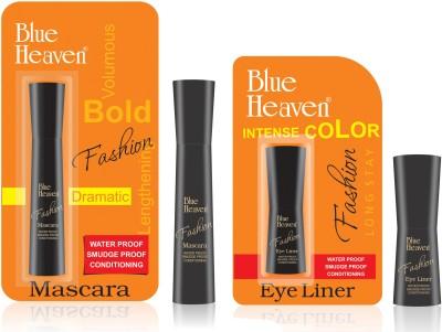 Blue Heaven Fashion Eyeliner & Mascara Combo