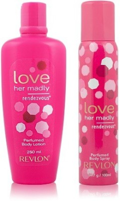 Revlon Love Her Madly Rendezvous Perfumed Body Lotion & Body Spray