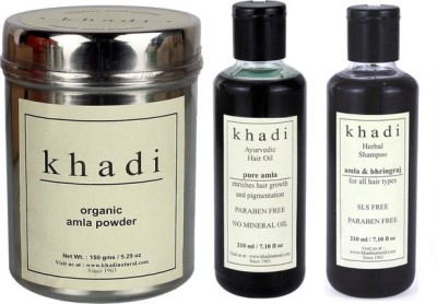 khadi Natural Total Hair Care Combo -2