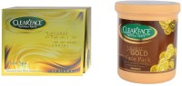 Clear Face 24 Carat Gold Facial Kit With 24 Carat Gold Face Pack(Set of 2) best price on Flipkart @ Rs. 1530