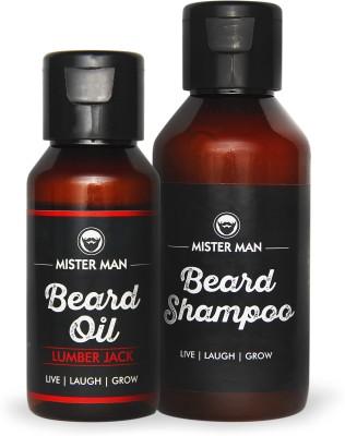 Misterman Beard Oil & Beard Shampoo