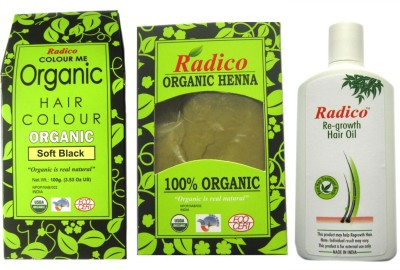 RADICO SOFT BLACK AND HENNA WITH OIL