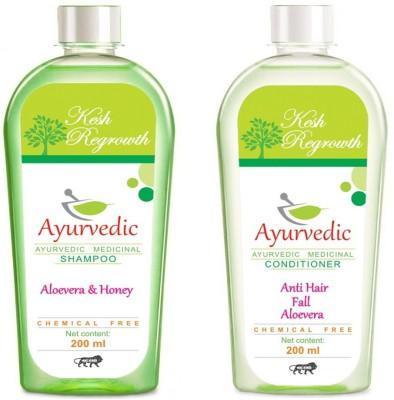 Kesh Regrowth Aloevera Honey Shampoo & Anti Hair Fall Conditioner