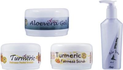 Adidev Herbals Ayurvedic Skin Brightening Turmeric Fairness Pack