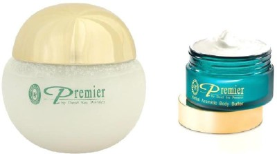 Premier Bathing Salt Scrub Crystals & Body Butter Combo