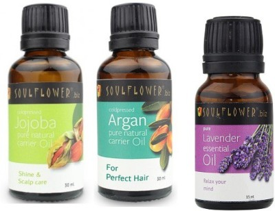 Soulflower Hair And Skin Care Set Of 3