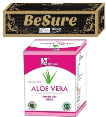 Besure Face Tissue with Pimple Gel