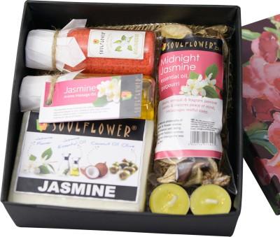 Soulflower Jasmine Aroma Spa Set