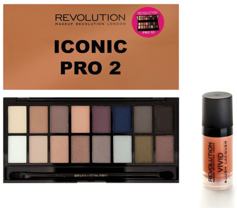 Makeup Revolution London Iconic 2 Heart(Set of 2)