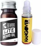 Beardo Lite oil-Hangover mild 35 and 8ml...