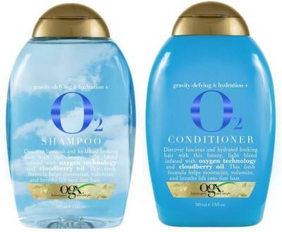 OGX Gravity-Defying & Hydration Plus O2 Combo