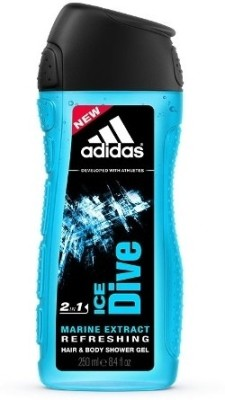 Adidas Ice Dive Hair & Body 2-in-1