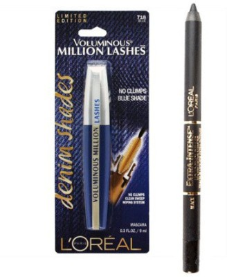 L,Oreal Paris Loreal Voluminous Million Lashes, Loreal Extra Intense