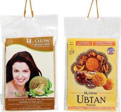 H2 Glow Multani Mitti Ubtan Combo