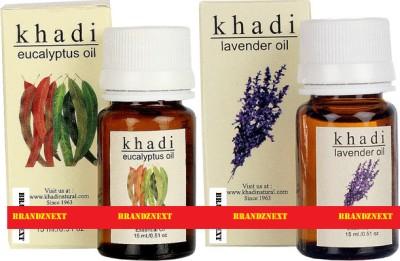 khadi Natural Essential Oil Combo - 8 (Eucalyptus & Lavender)