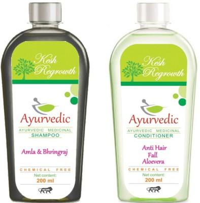 Kesh Regrowth Amla Bhringraj Shampoo & Anti Hair Fall Conditioner