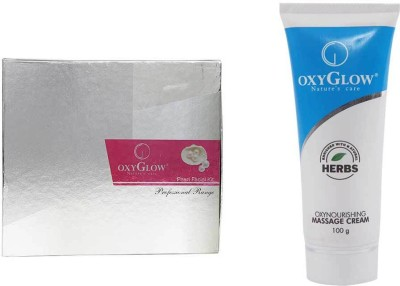 Oxyglow Pearl Facial Kit & Oxynourshing Massage Cream