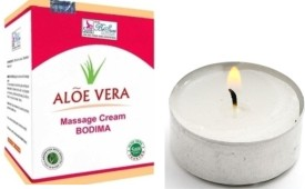 Besure BeSure Aloe Vera Massage Cream with BeSure Tealights ( 40 pieces)