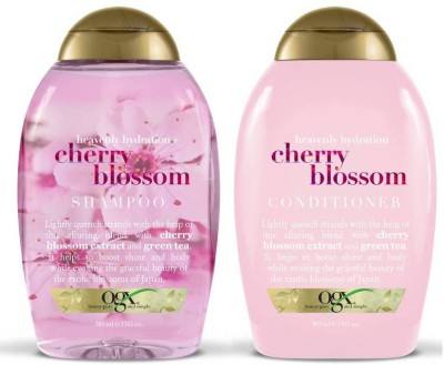 OGX Heavenly Hydration Plus Cherry Blossom Combo