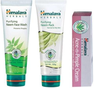 Himalaya Acne-N-Pimple Care Kit