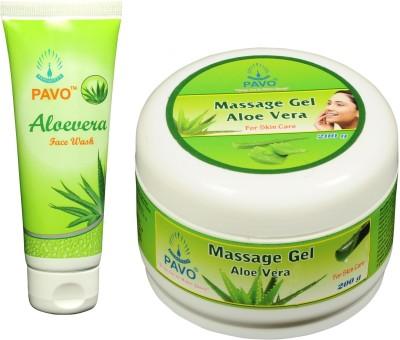 Pavo Aloe Vera Face Wash & Massage Gel