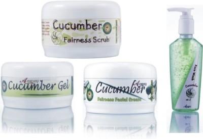 Adidev Herbals Ayurvedic Herbal Cucumber Fairness Instant Glow Pack