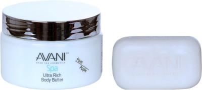 Avani Mineral Salt Soap And Ultra Rich Body Butter (Pear/Apple)