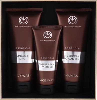 The Man Company Sturdy Trio- Set of Face Wash, Body Wash and Shampoo