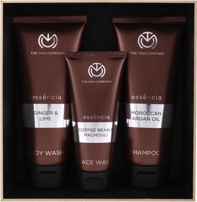 The Man Company Sturdy Trio- Set of Face Wash, Body Wash and Shampoo