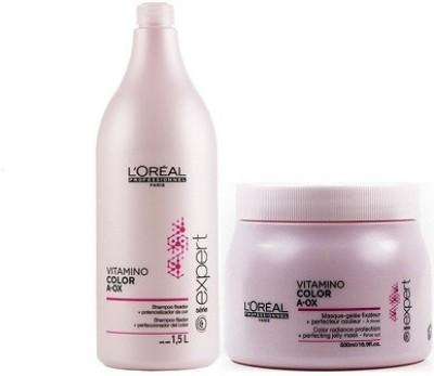 L,Oreal Paris Vitamino Color A-Ox Shampoo and Mask