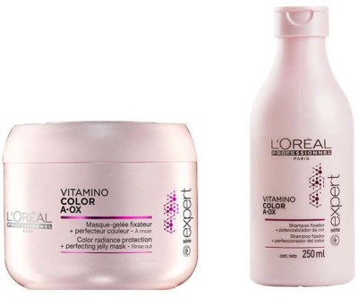 L,Oreal Paris Vitamino Color A- Ox Radiance protection Shampoo with mask