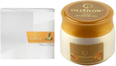 Oxyglow Fruit Facial Kit & Gold Massage Gel Eco Pack