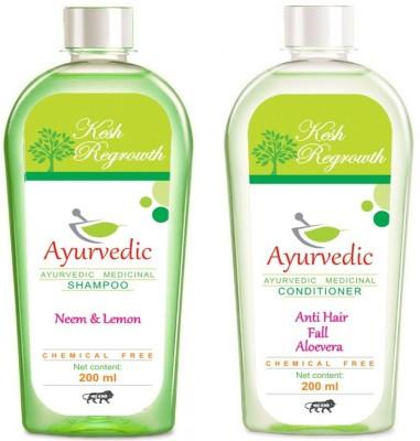 Kesh Regrowth Neem Lemon Shampoo & Anti Hair fall Conditioner