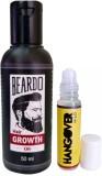 Beardo Growth Oil-Hangover mild 50 and 8...