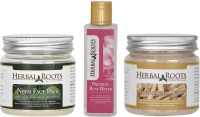 Herbal Roots Anti Acne/Pimple Care - Sandalwood Scrub, Neem Face Pack & Rose Water For Face Treatments(Set of 3) best price on Flipkart @ Rs. 839