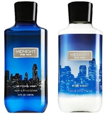 Bath & Body Works Midnight For Men Combo Set