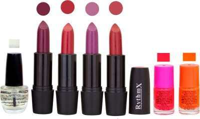 RYTHMX GSR RYTH BLK LIPSTICKS AND NAIL POLISH IMPORTANT COMBO 077