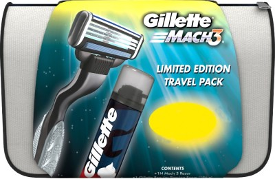 gillette Mach 3 Limited Edition Travel Pack
