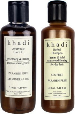 khadi Natural Hair Growth & Extra Conditioning Combo